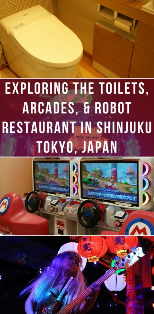 exploring the toilets arcades robot restaurant in shinjuku tokyo japan 491x1000 - Exploring the toilets, arcades, & Robot Restaurant in Shinjuku - Tokyo, Japan