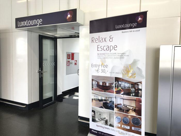 luxxlounge frankfurt airport 700x525 - LuxxLounge Frankfurt Airport FRA review