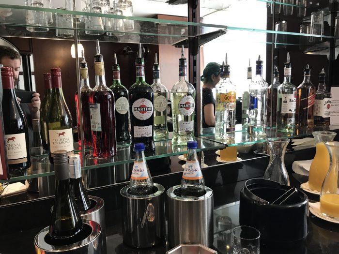 luxxlounge frankfurt airport liquor 700x525 - LuxxLounge Frankfurt Airport FRA review