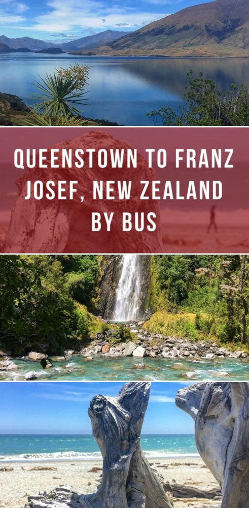 queenstown to franz josef new zealand by bus 491x1000 - Queenstown to Franz Josef, New Zealand by bus