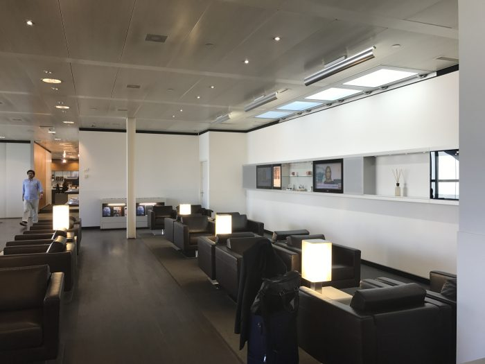 swiss business class lounge geneva airport 700x525 - Swiss Business Class Lounge Geneva Airport GVA review
