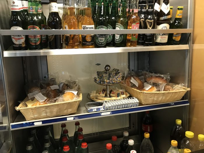swissport horizon lounge geneva airport food 700x525 - Swissport Horizon Lounge Geneva Airport GVA review