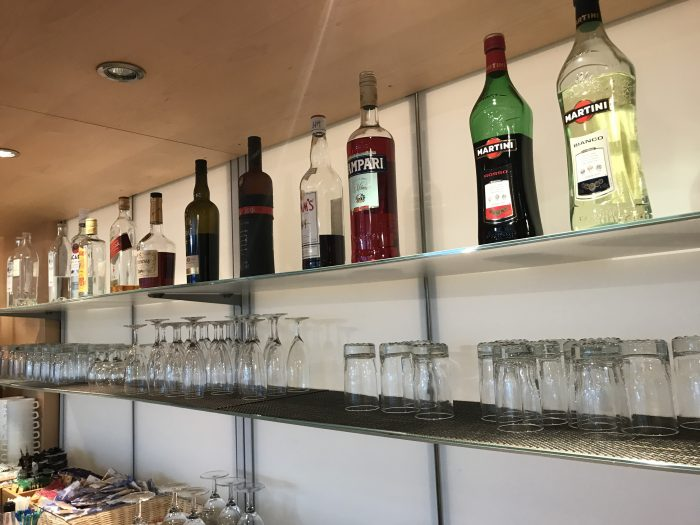 swissport horizon lounge geneva airport liquor 700x525 - Swissport Horizon Lounge Geneva Airport GVA review