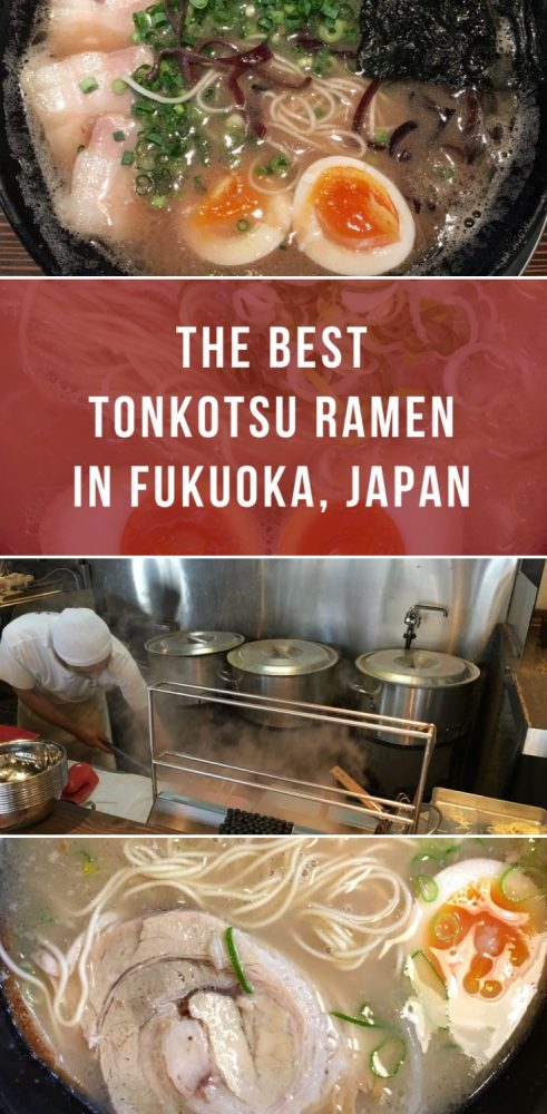 the best tonkotsu ramen in fukuoka japan 491x1000 - The best tonkotsu ramen in Fukuoka, Japan