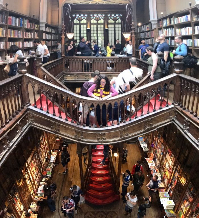 livraria lello bookstore jk rowling harry potter porto 700x766 - How to have a Harry Potter & JK Rowling experience in Porto, Portugal