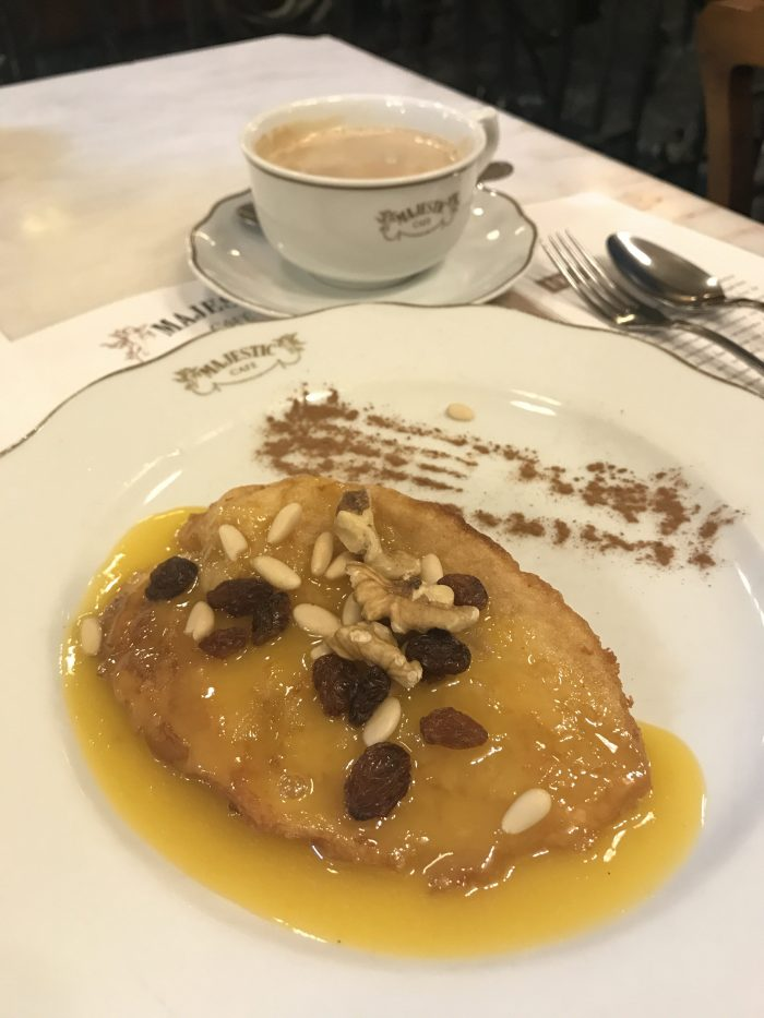 majestic cafe porto french toast 700x933 - How to have a Harry Potter & JK Rowling experience in Porto, Portugal