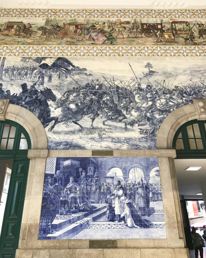 sao bento station porto 700x875 - How to have a Harry Potter & JK Rowling experience in Porto, Portugal