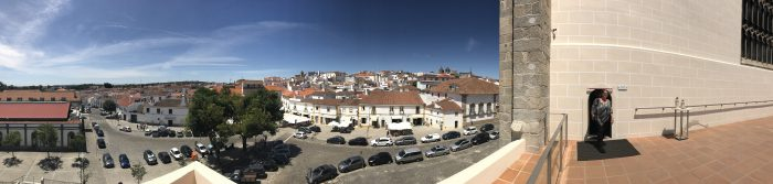 evora panorama 700x167 - A day trip from Lisbon to Évora, Portugal