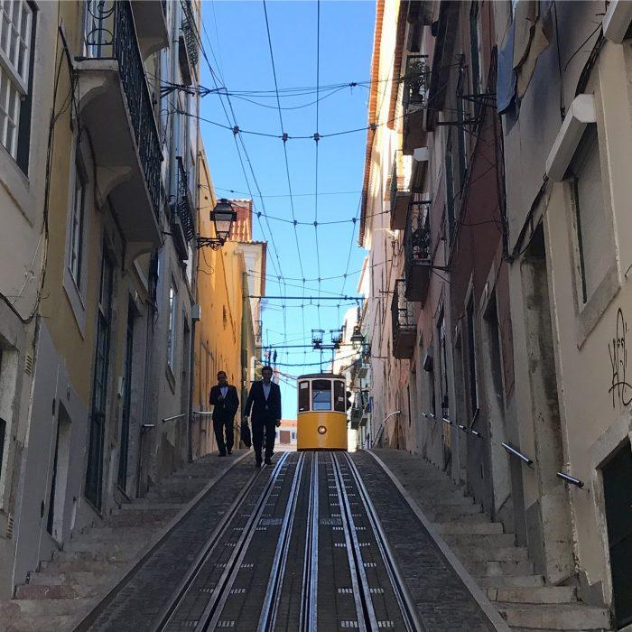 acensor da bica lisbon 700x700 - The guide to Lisbon's funiculars & elevators