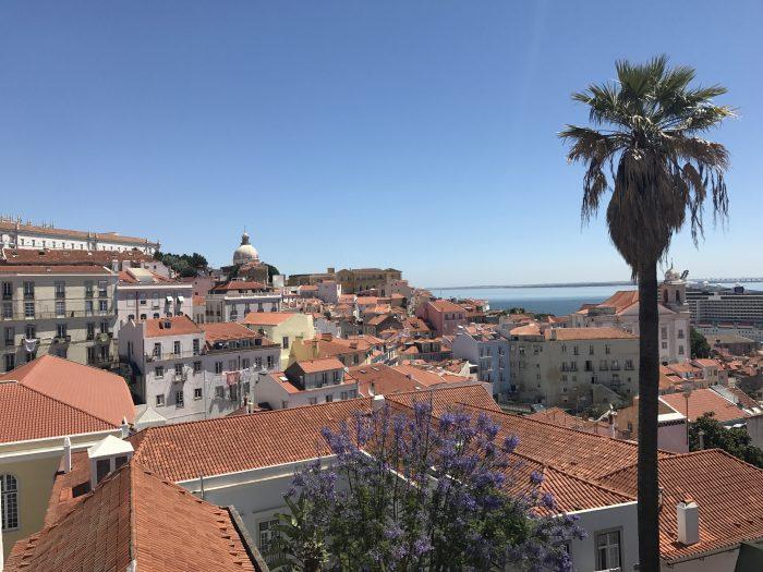 alfama overlook lisbon 700x525 - A visit to Sao Jorge Castle & Alfama in Lisbon, Portugal