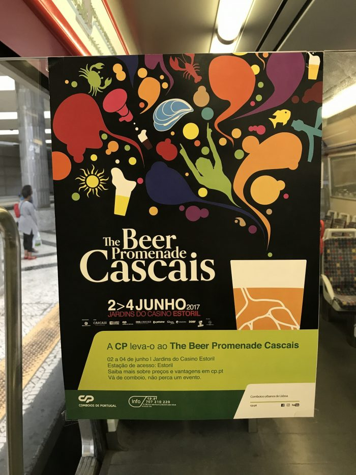 beer promenade cascais poster 700x933 - The best craft beer in Cascais, Portugal