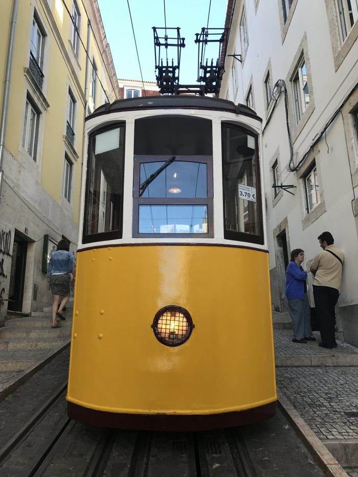 bica funicular lisbon 700x933 - The guide to Lisbon's funiculars & elevators