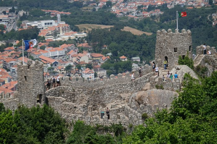 castle of the moors 700x467 - A day trip from Lisbon to Sintra, Portugal - Castle of the Moors & Pena National Palace