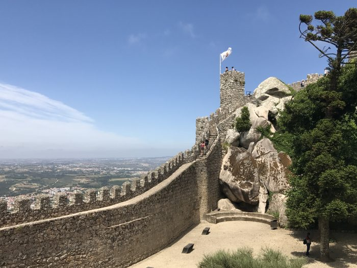 castle of the moors sintra 700x525 - A day trip from Lisbon to Sintra, Portugal - Castle of the Moors & Pena National Palace