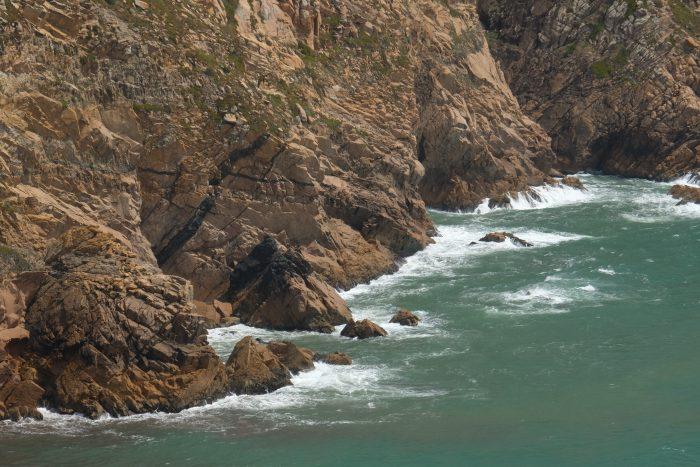 day trip to sintra cascais natural park cabo da roca waves rocks 700x467 - A day trip from Lisbon to Sintra, Portugal - Sintra-Cascais Natural Park & Cabo da Roca