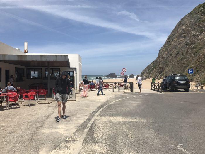 day trip to sintra cascais natural park praia da adraga cafe 700x525 - A day trip from Lisbon to Sintra, Portugal - Sintra-Cascais Natural Park & Cabo da Roca