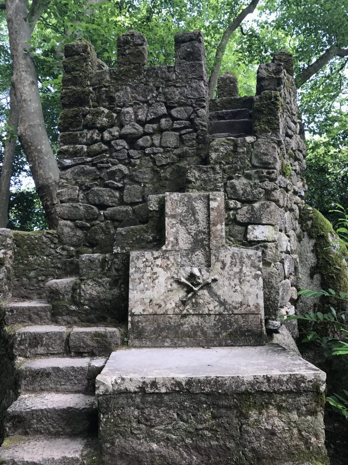 day trip to sintra castle of the moors necropolis 700x933 - A day trip from Lisbon to Sintra, Portugal - Castle of the Moors & Pena National Palace