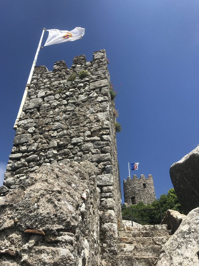 day trip to sintra castle of the moors tower 700x933 - A day trip from Lisbon to Sintra, Portugal - Castle of the Moors & Pena National Palace