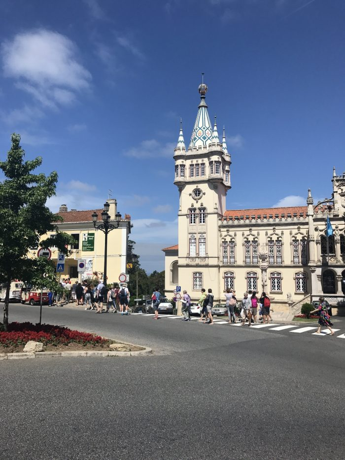 day trip to sintra city center 700x933 - A day trip from Lisbon to Sintra, Portugal - Castle of the Moors & Pena National Palace