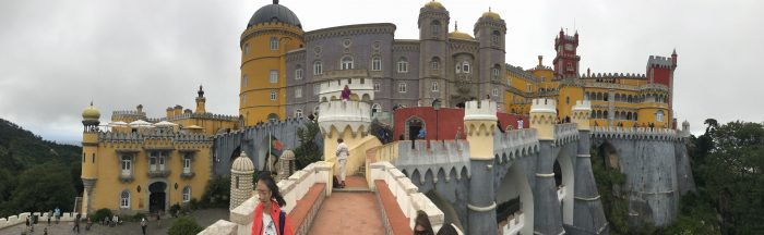 day trip to sintra pena palace panorama 700x216 - A day trip from Lisbon to Sintra, Portugal - Castle of the Moors & Pena National Palace