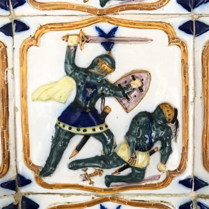 day trip to sintra pena palace tiles 700x700 - A day trip from Lisbon to Sintra, Portugal - Castle of the Moors & Pena National Palace