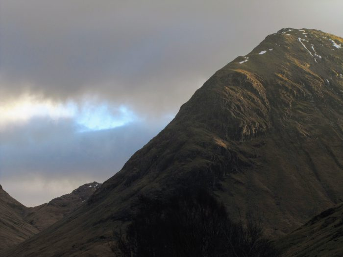 glencoe mountains scotland sunset 700x525 - On music, travel, Frightened Rabbit, & Scott Hutchison