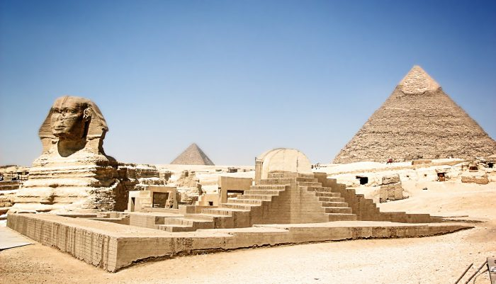 great pyramids sphinx 700x401 - Travel Contests: May 16, 2018 - Egypt, the Caribbean, & more