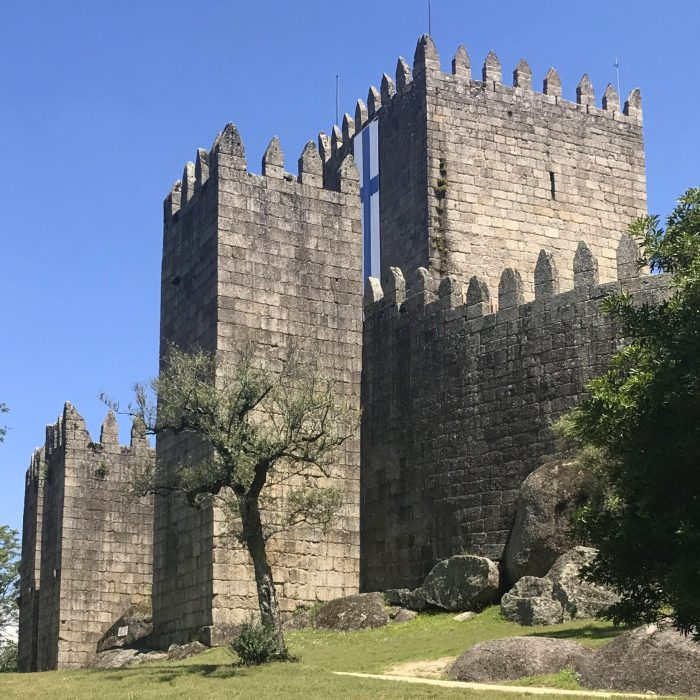 guimaraes castle 700x700 - A day trip from Porto to Guimarães, Portugal