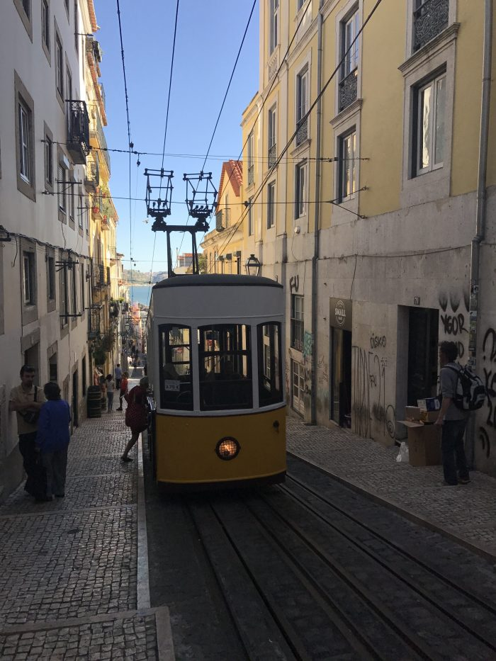 lisbon funicular bica 700x933 - The guide to Lisbon's funiculars & elevators