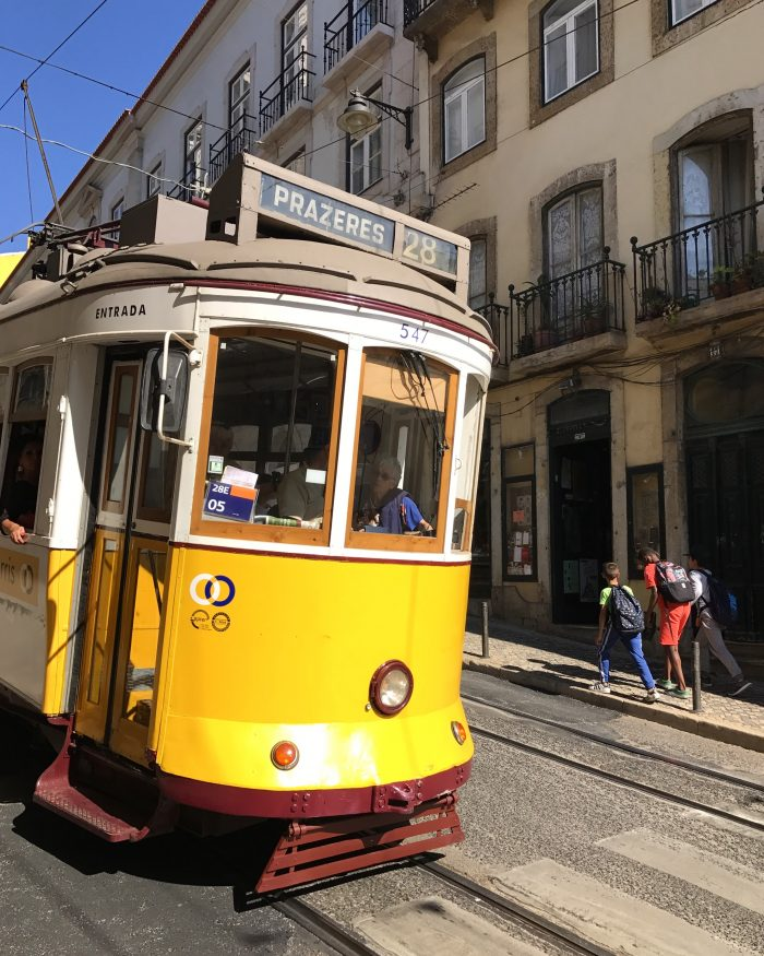 lisbon tram 28 700x875 - The guide to Lisbon's trams including Tram 28