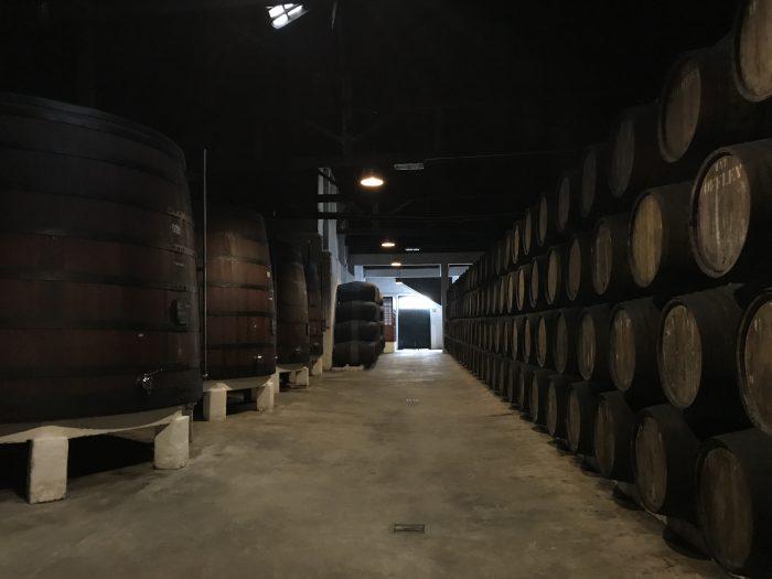 offley port house cellar port tasting porto 700x525 - The guide to port tasting in Porto, Portugal
