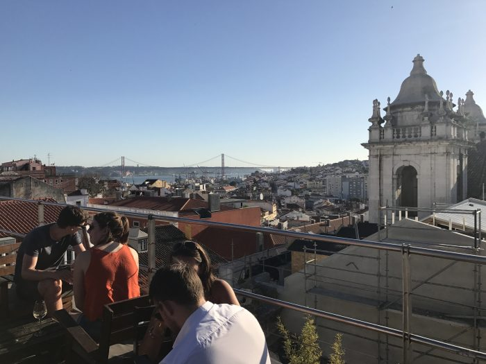 park rooftop bar lisbon 700x525 - The guide to Lisbon's trams including Tram 28