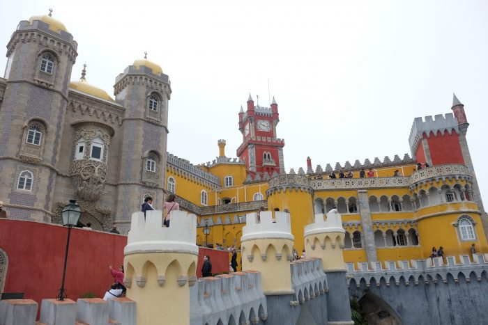 pena national palace 700x467 - A day trip from Lisbon to Sintra, Portugal - Castle of the Moors & Pena National Palace