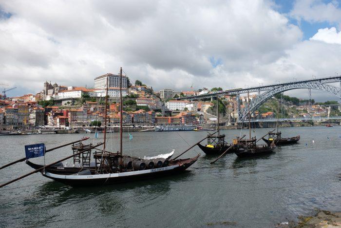 port boats douro river porto portugal 700x467 - The guide to port tasting in Porto, Portugal