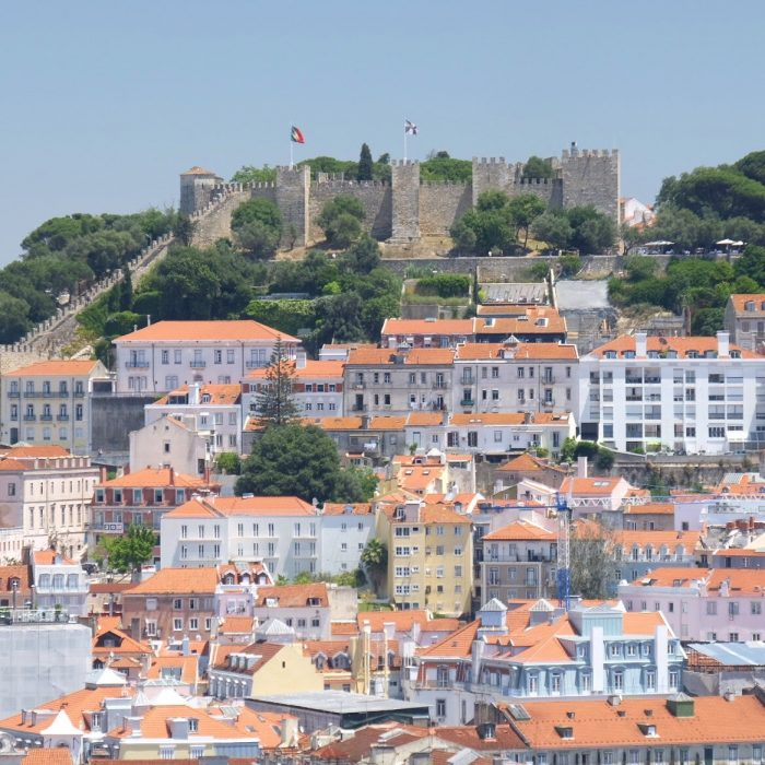 sao jorge castle 700x700 - The guide to Lisbon's funiculars & elevators