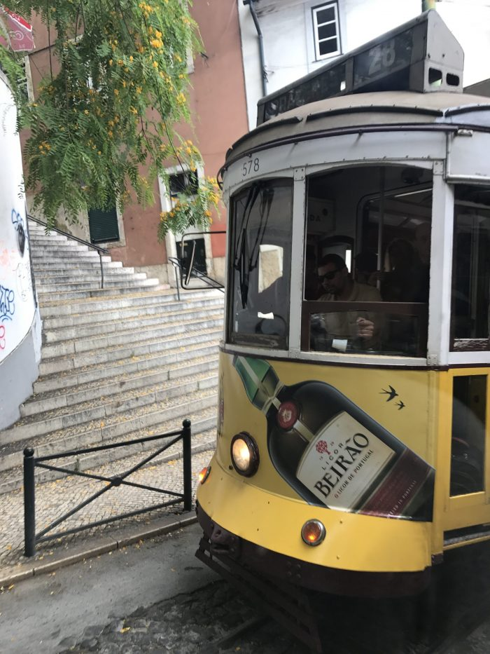 tram alfama lisbon 700x933 - The guide to Lisbon's trams including Tram 28