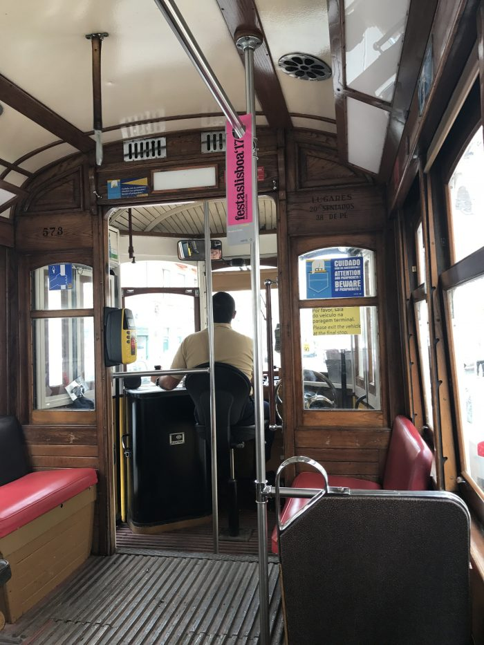 tram driver lisbon 700x933 - The guide to Lisbon's trams including Tram 28