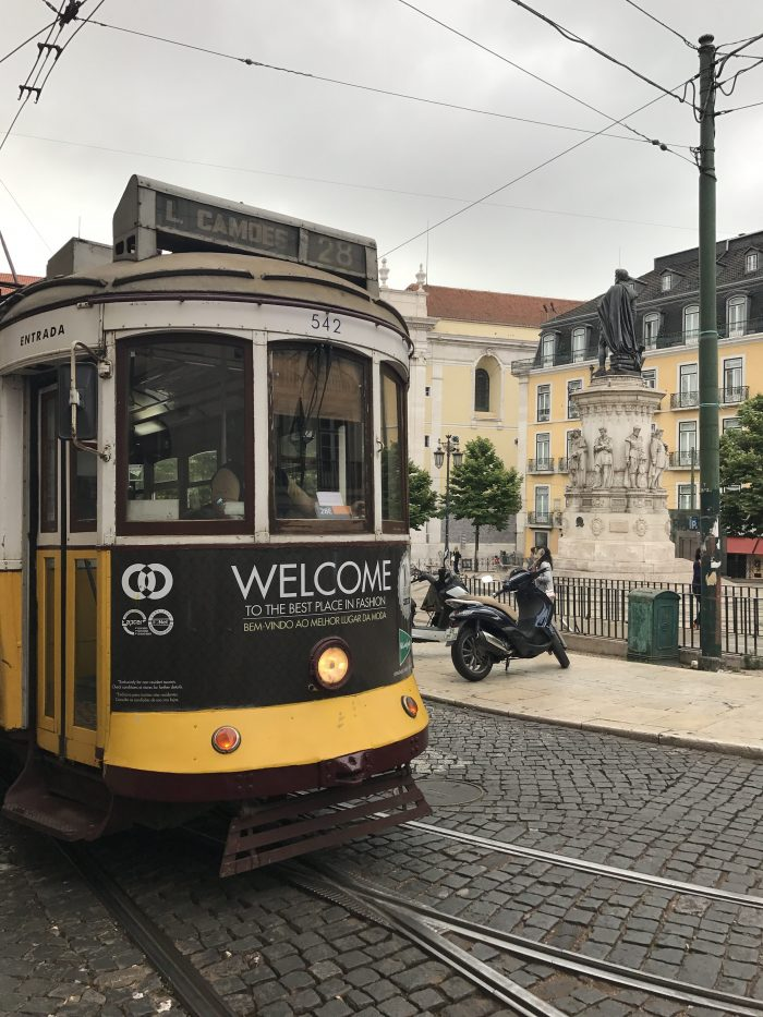 trams in lisbon 700x933 - The guide to Lisbon's trams including Tram 28