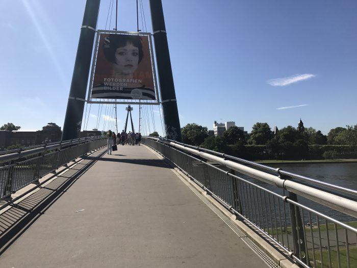 24 hour layover in frankfurt main river bridges 700x525 - The guide to a 24 hour layover in Frankfurt, Germany