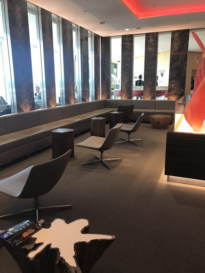 air canada maple leaf lounge frankfurt 700x933 - Air Canada Maple Leaf Lounge Frankfurt Airport FRA review