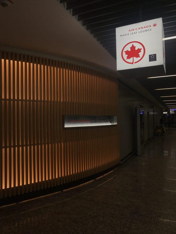 air canada maple leaf lounge frankfurt entrance 700x933 - Air Canada Maple Leaf Lounge Frankfurt Airport FRA review