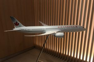 air canada maple leaf lounge frankfurt plane 300x200 - Air Canada Maple Leaf Lounge Frankfurt Airport FRA review