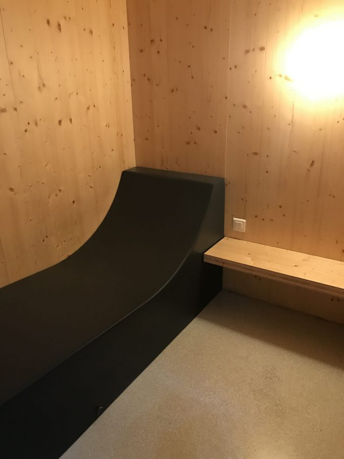 ana lounge lisbon rest pods 700x933 - ANA Lounge Lisbon Airport LIS review