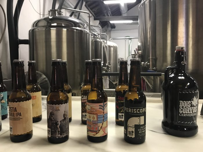 dois corvos brewery beer 700x525 - The best craft beer in Lisbon, Portugal