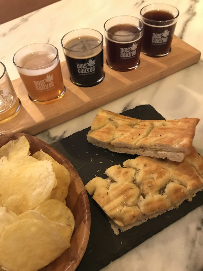 dois corvos brewery food beer 700x933 - The best craft beer in Lisbon, Portugal