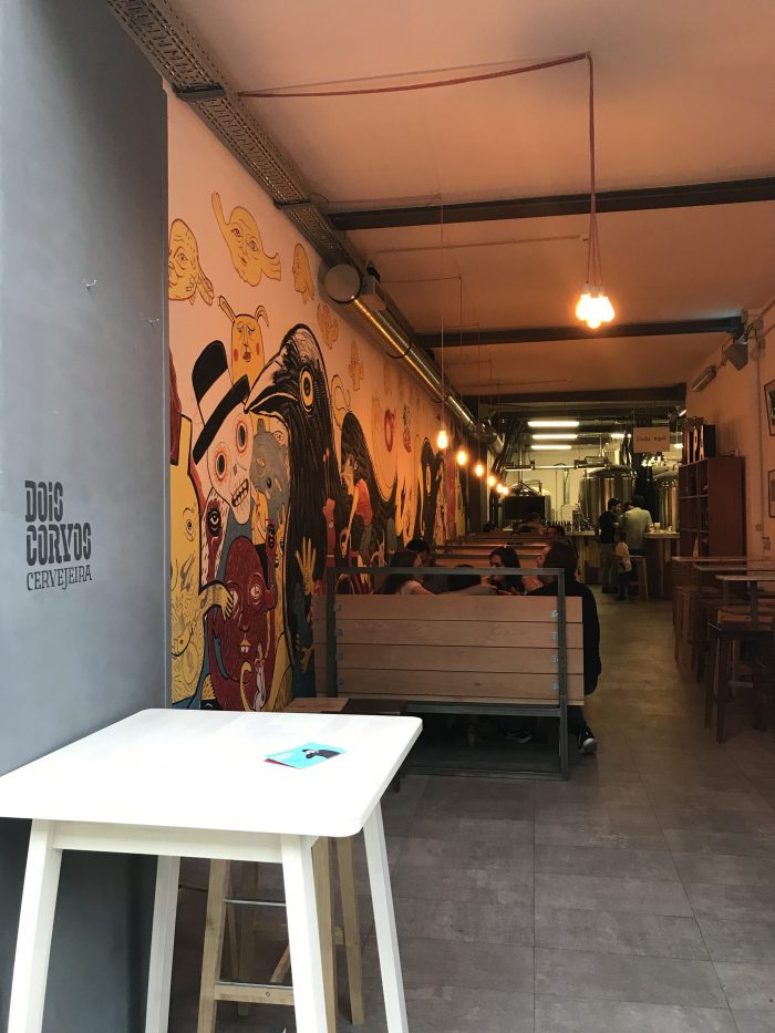 dois corvos brewery lisbon 700x933 - The best craft beer in Lisbon, Portugal