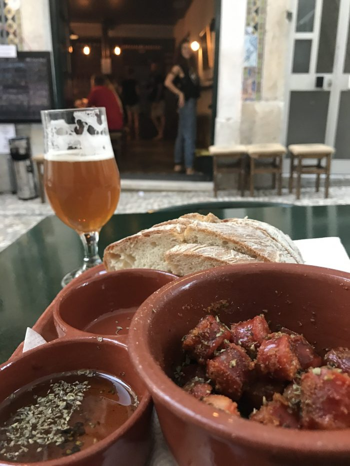 duque brewpub food beer 700x933 - The best craft beer in Lisbon, Portugal