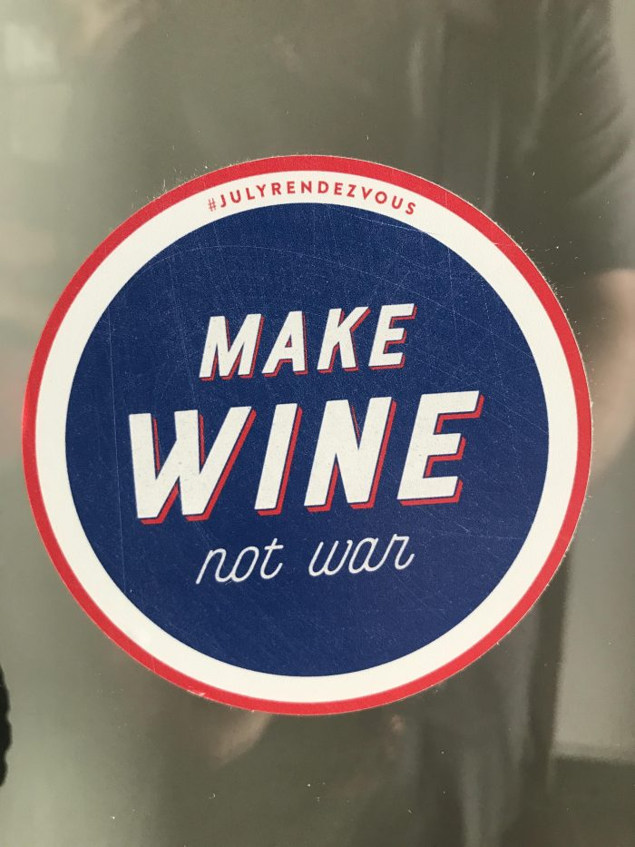make wine not war 700x933 - A day trip from Prague to Tabor, Czech Republic
