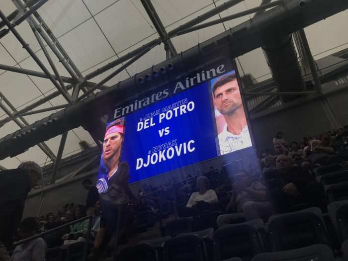2018 us open final novak djokovic juan martin del potro 700x525 - I won a travel contest & attended the U.S. Open Final