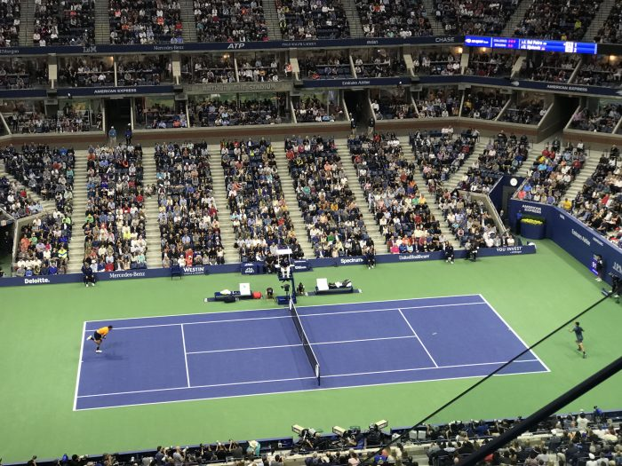 2018 us open final novak djokovic juan martin del potro tennis arthur ashe 700x525 - I won a travel contest & attended the U.S. Open Final
